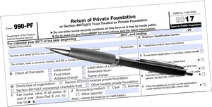 Foundation Tax Forms as a Free Research Tool