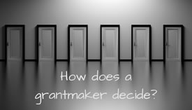 A Look Inside a Grantmaker's Decision Process