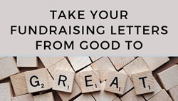 From Good to Great - Better Fundraising Offers